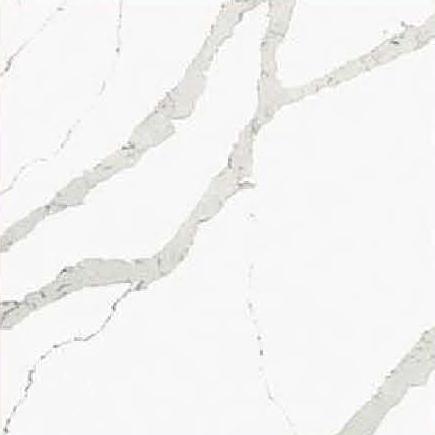 JH-CA103 Calacatta White Quartz Slab Surface