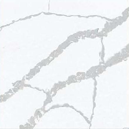 JH-CA107 Calacatta White Quartz Slab Surface