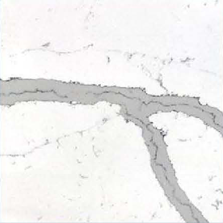 JH-CA109 Calacatta White Quartz Slab Surface