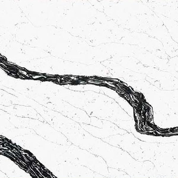 JH-CA117 Calacatta White Quartz Slab Surface