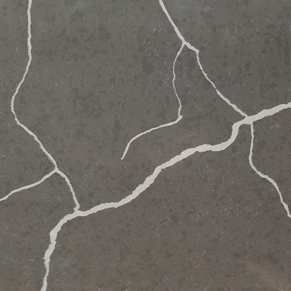 JH-CA204 Calacatta Grey Quartz Slab Surface