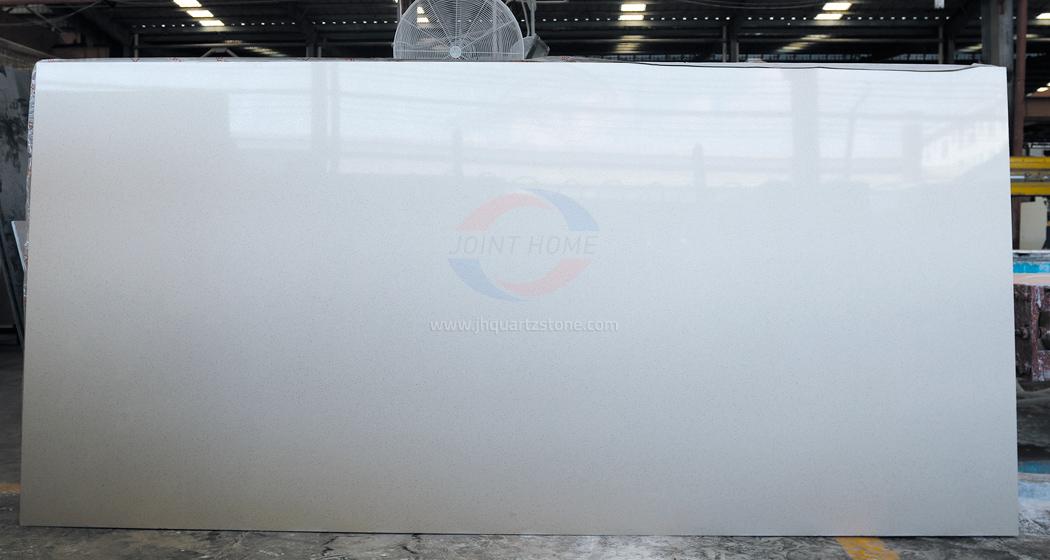 JH-PC002 Pure White Quartz Slab Surface 4