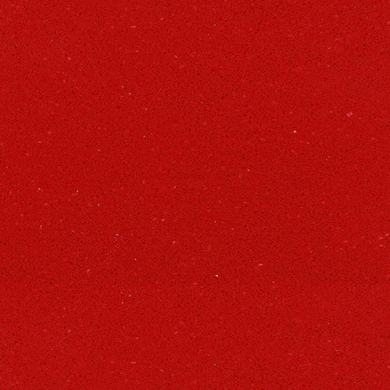 JH-PC015 Pure Red Quartz Slab Surface