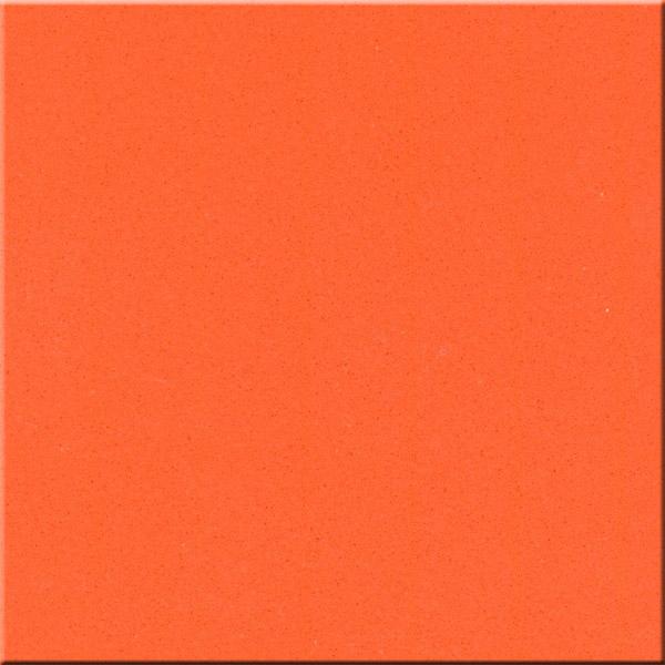 JH-PC016 Dark Orange Quartz Slab Surface