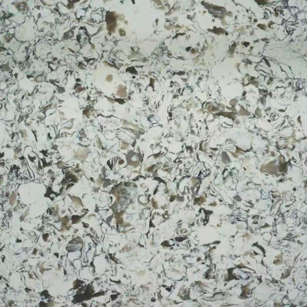 JH-VE018 Greed Land Quartz Slab Surface