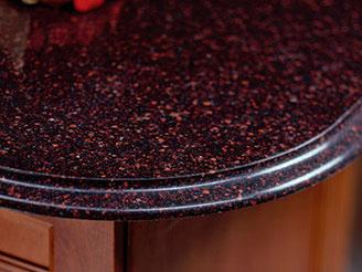 Wilshire Red Quartz Countertop