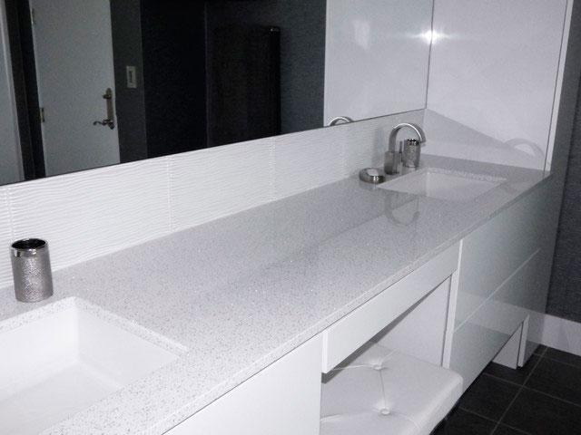 Whitney Quartz Vanity Bathroom Countertop 3