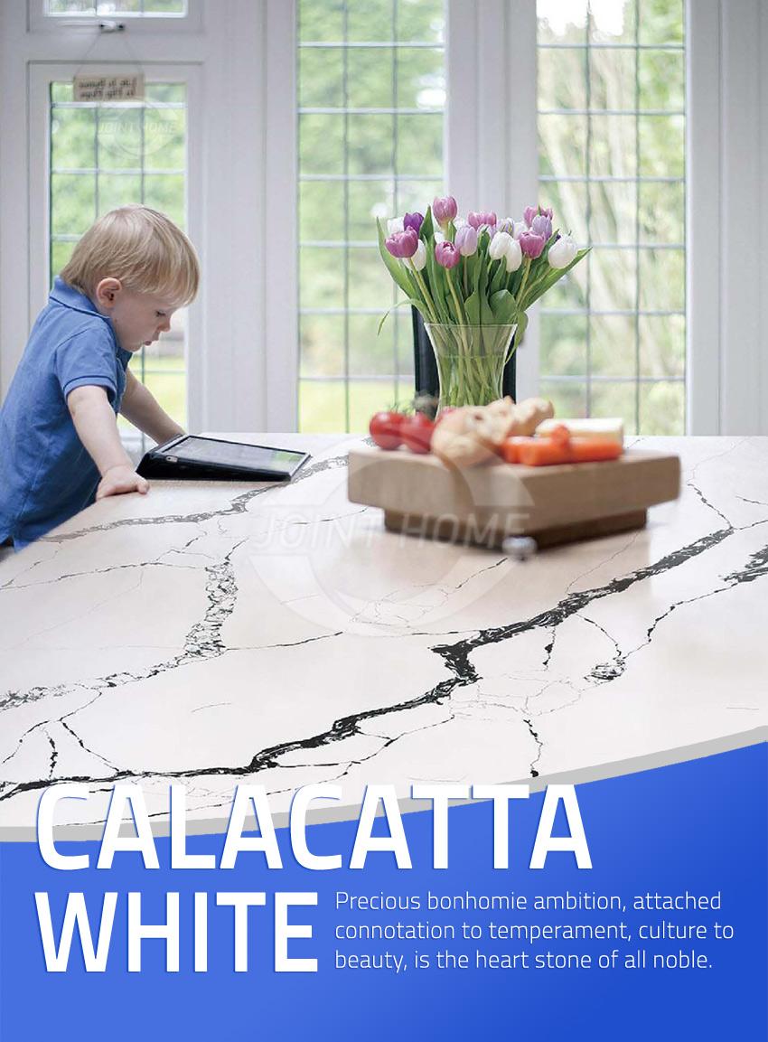 Calacatta Quartz Dining Table Calacatta Quartz Slab