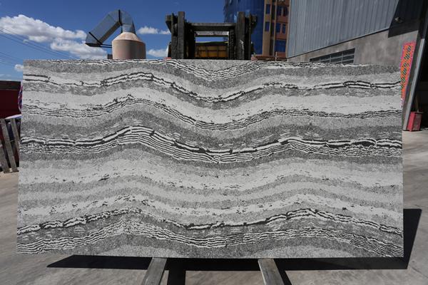 Good Price Grey Quartz Stone Slab For Kitchen Countertops  1