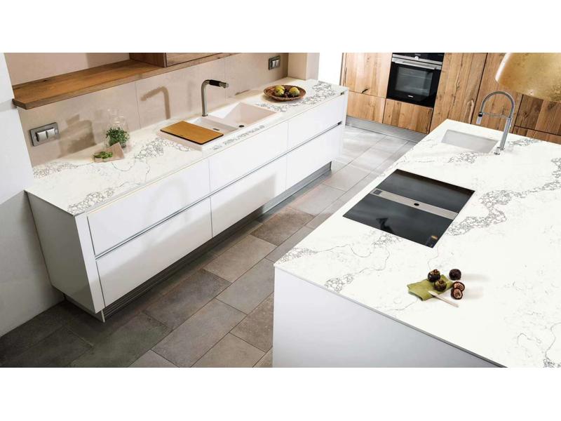 Best Price Chinese Carrara White Quartz Stone Countertops