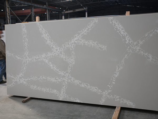 Calacatta Grey Color Quartz Stone Slabs With Best Cheap Price Cost