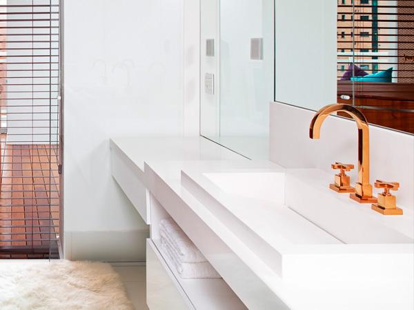 Custom 60 Inch Quartz Stone Bathroom Vanity Countertops