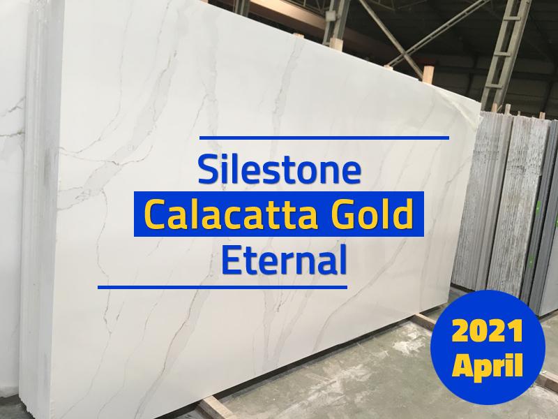 Our Calacatta Gold Eternal Quartz Slabs Similar as Silestone(Quartz Stone Blog 2021 Apr. Report)