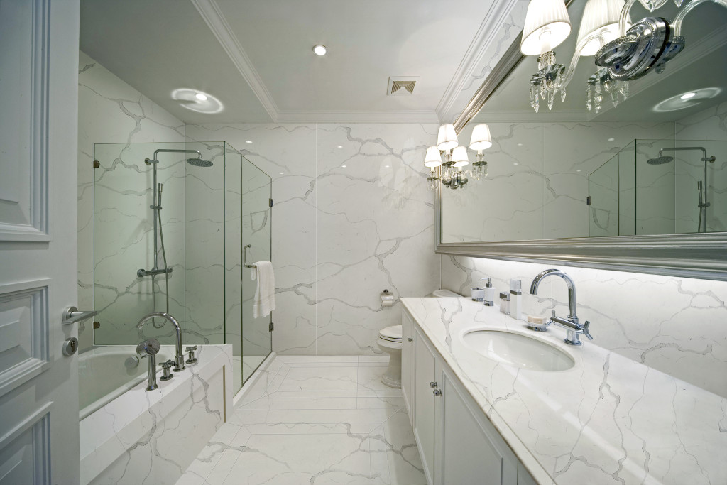 Pros and Cons for Quartz Stone Slab Shower Walls Knowledge